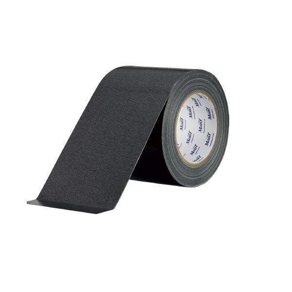 (まとめ)古藤工業 工事用布粘着テープNo.8002 黒 100mm×25m【×30セット】【日時指定不可】