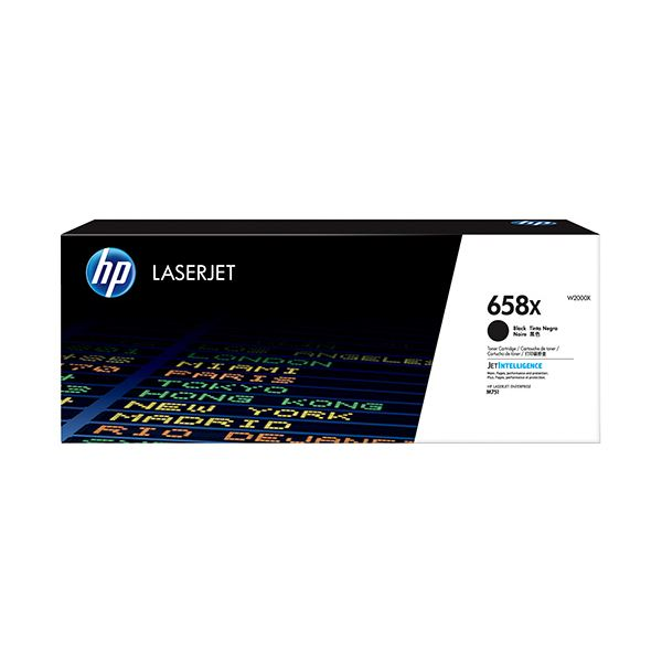 HP HP658X トナーカートリッジ 黒 W2000X 1個【日時指定不可】