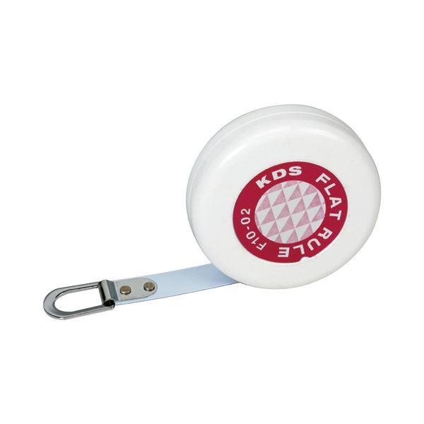(まとめ) ムラテックKDS フラットルール 曲面測定尺 幅10mm×2m F10-02P 1個 【×10セット】【日時指定不可】