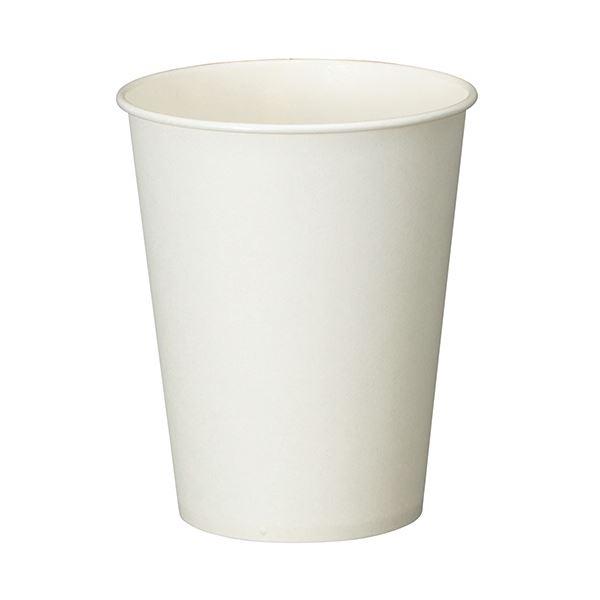 (まとめ) TANOSEE 紙コップ ホワイト 275ml(9オンス) 1セット(500個:100個×5パック) 【×5セット】【日時指定不可】