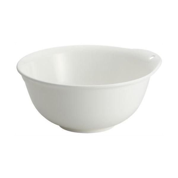 (まとめ) プラスチック製 ボール 【24cm】 抗菌加工付き ホワイト キッチン用品 『ポゼ』 【60個セット】【日時指定不可】