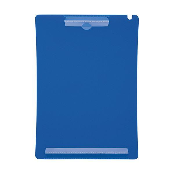 (まとめ) ライオン事務器 アンケートボードA4タテ ブルー QB-220 1枚 【×50セット】【日時指定不可】