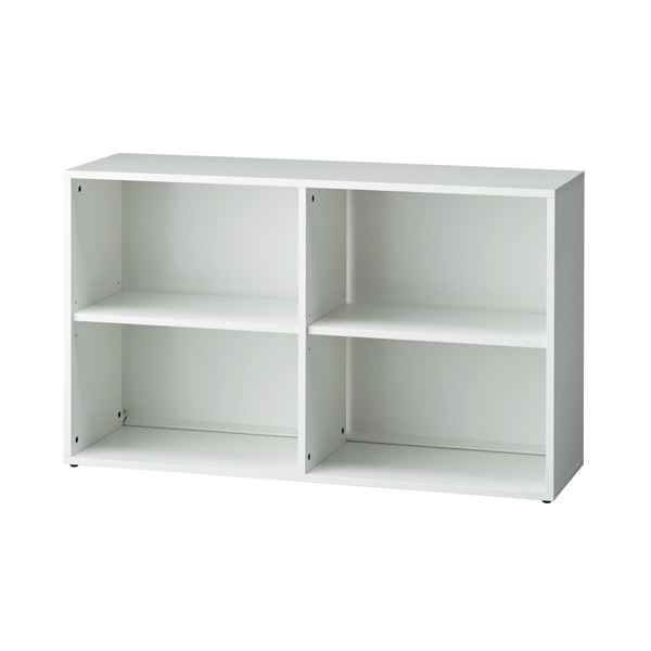 プラス b-Foret 木製棚 ホワイト BF2-A72E W4【日時指定不可】