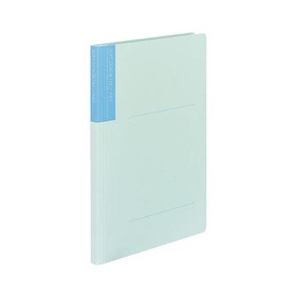 (まとめ)コクヨ ソフトカラーファイル A4タテ150枚収容 背幅18mm うす青 フ-1-5 1セット(10冊)【×10セット】【日時指定不可】