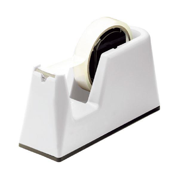 (まとめ)ソニック プロテープカッター グライン 白 TC-2983-W(×10セット)【日時指定不可】