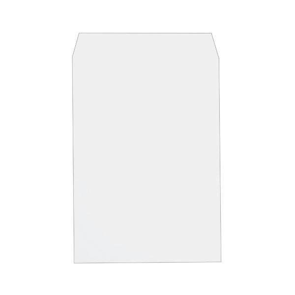 (まとめ)透けない封筒ワンタッチテープ付 角2 ケント 100枚入×5パック【×3セット】【日時指定不可】