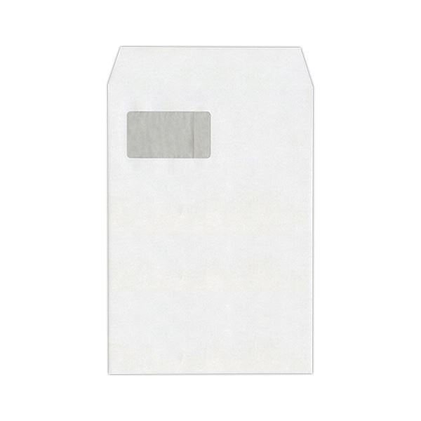 (まとめ) ハート 透けない封筒 ケント グラシン窓A4 XEP732 1パック(100枚) 【×5セット】【日時指定不可】