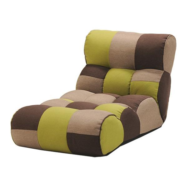 ソファー座椅子/フロアチェア 【FOREST フォレスト】 ワイドタイプ 41段階リクライニング 『ピグレットJrロング』【日時指定不可】