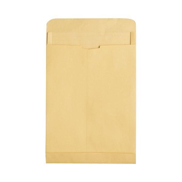 (まとめ) TANOSEE マチ付クラフト大型封筒 角0 120g/m2 1パック(50枚) 【×5セット】【日時指定不可】