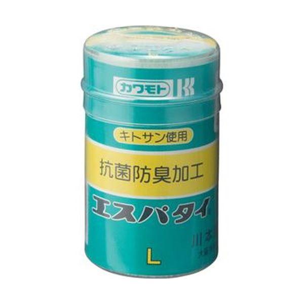 (まとめ)カワモト 抗菌エスパタイ L 6.5cm×4m 1巻【×50セット】【日時指定不可】
