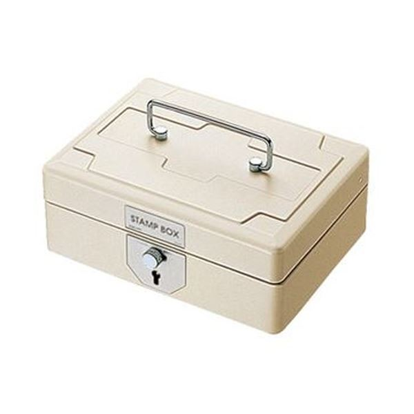 (まとめ)コクヨ スチール印箱 中W196×D156×H93mm IB-24 1個【×3セット】【日時指定不可】