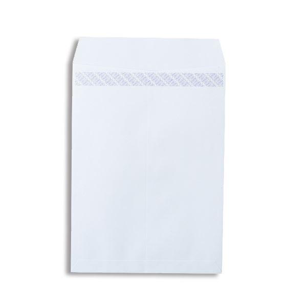(まとめ)ピース R40再生ケント封筒テープのり付 角2 100g/m2 〒枠なし ホワイト 業務用パック 698-80 1箱(500枚)【×3セット】【日時指定不可】