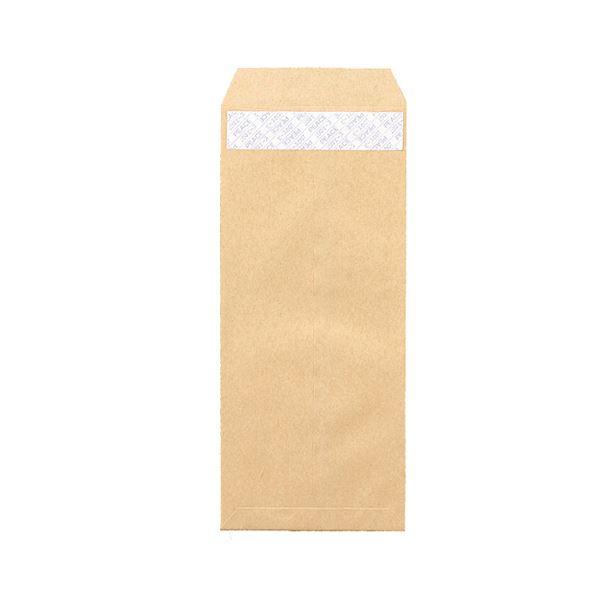 (まとめ) ピース R40再生紙クラフト封筒 テープのり付 長4 70g/m2 〒枠あり 業務用パック 441 1箱(1000枚) 【×5セット】【日時指定不可】