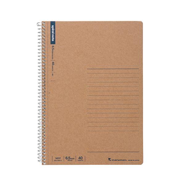 (まとめ) マルマン スパイラルノート A56.5mm罫 40枚 N237 1冊 【×50セット】【日時指定不可】