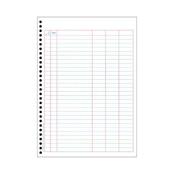 (まとめ) オービック 単票バインダー元帳 A4タテ 4124 1箱(1000枚) 【×5セット】【日時指定不可】