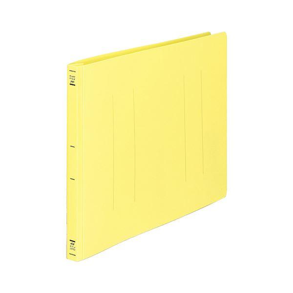 (まとめ) コクヨ フラットファイル(PP) B4ヨコ 150枚収容 背幅20mm 黄 フ-H19Y 1セット(10冊) 【×5セット】【日時指定不可】