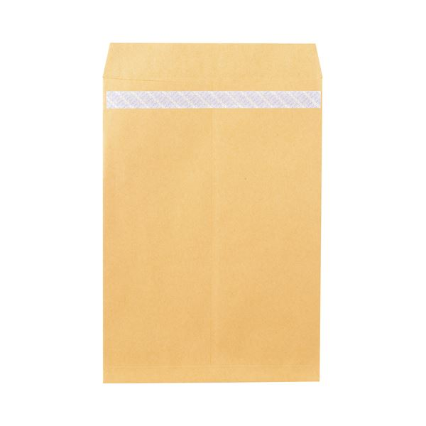 (まとめ)ピース R40再生紙クラフト封筒テープのり付 角1 85g/m2 業務用パック 703 1箱(500枚)【×3セット】【日時指定不可】