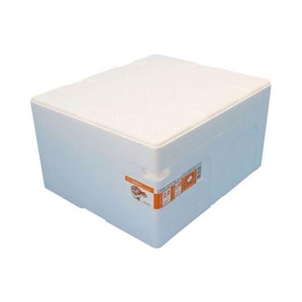 (まとめ)石山 発泡容器 なんでも箱 28.2Lホワイト TI-330RII 1個【×10セット】【日時指定不可】