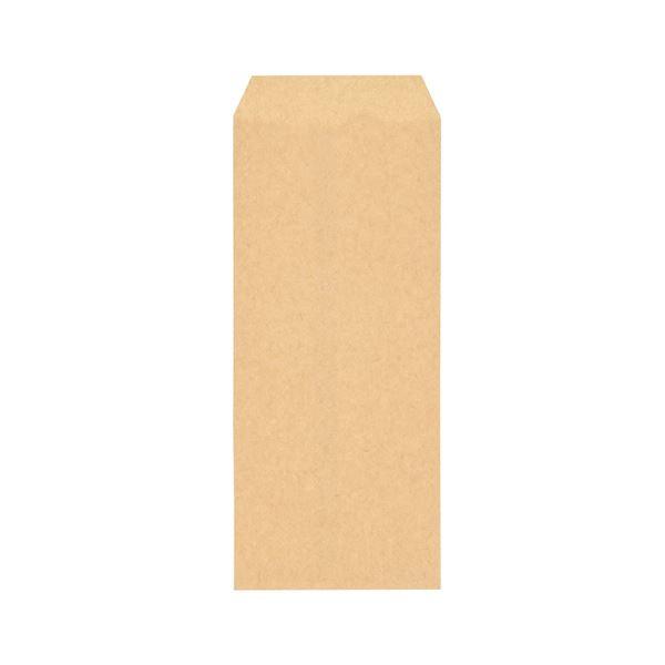 (まとめ) ピース R40再生紙クラフト封筒 長470g/m2 〒枠なし 404-80 1ケース(1000枚) 【×10セット】【日時指定不可】