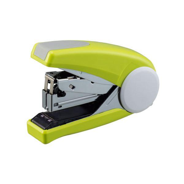 (まとめ) ライオン事務器 ステープラ かるホッチPOWER 45枚とじ グリーン FS-45 1個 【×10セット】【日時指定不可】
