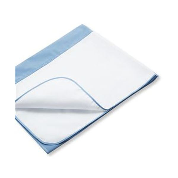 (まとめ)カネモ商事 Lor防水シーツデニムタイプ ブルー 1枚【×5セット】【日時指定不可】