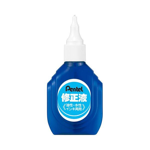 (まとめ) ぺんてる 修正液 油性・水性インキ両用 ZL1-WK 1本 【×30セット】【日時指定不可】
