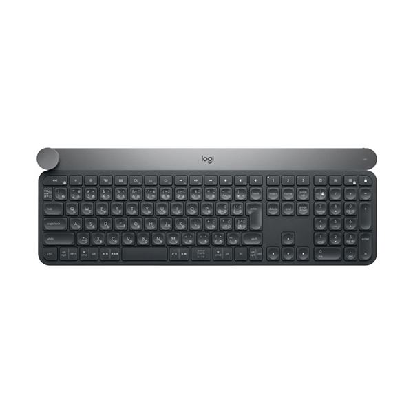ロジクール マルチデバイスワイヤレスキーボード ブラック KX1000s 1台【日時指定不可】