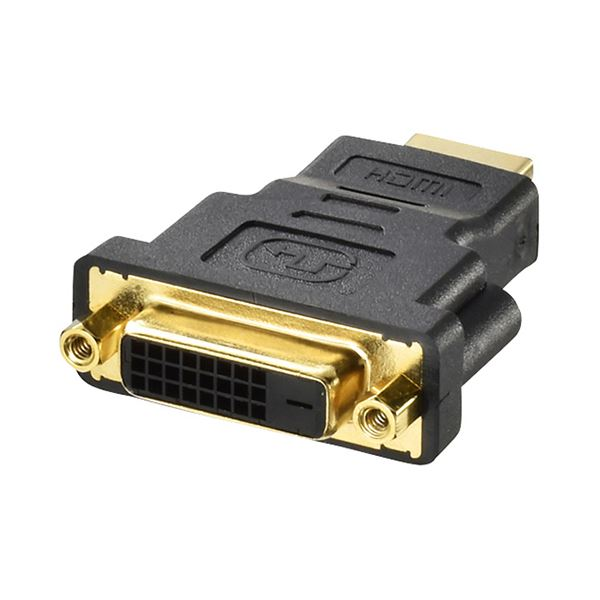 (まとめ) バッファローHDMIオス:DVIメス変換アダプター BSHDADVF 1個 【×10セット】【日時指定不可】