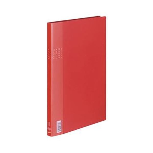(まとめ)コクヨ レターファイルEX A4タテ120枚収容 背幅21mm 赤 フ-510R 1セット(10冊)【×3セット】【日時指定不可】