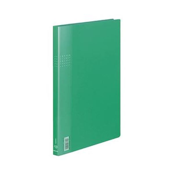 (まとめ)コクヨ レターファイルEX A4タテ120枚収容 背幅21mm 緑 フ-510G 1セット(10冊)【×3セット】【日時指定不可】
