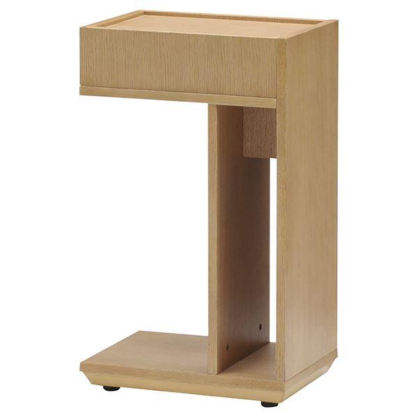 ST-04 サイドテーブル ナチュラル 【幅25×奥行35cm】【日時指定不可】