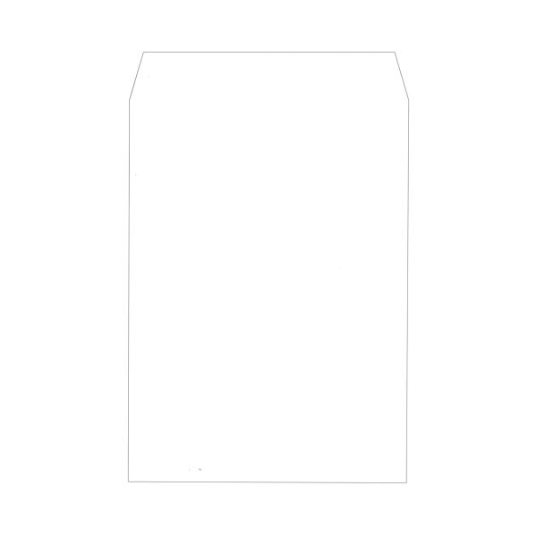 (まとめ)キングコーポレーション ソフトカラー封筒角2 100g/m2 ホワイト 業務用パック 160207 1箱(500枚)【×3セット】【日時指定不可】