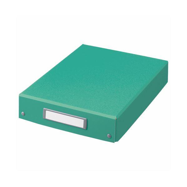 (まとめ) ライオン事務器 デスクトレー A4グリーン DT-13C 1個 【×10セット】【日時指定不可】