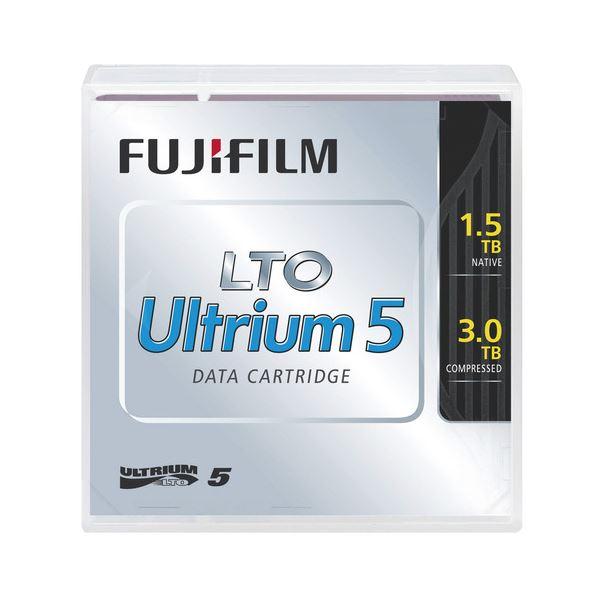(まとめ)富士フイルム LTO Ultrium5データカートリッジ 1.5TB LTO FB UL-5 1.5T J 1巻【×3セット】【日時指定不可】