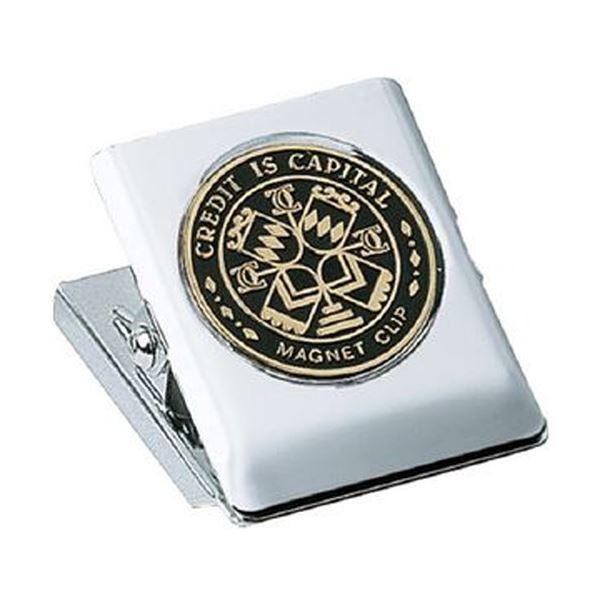 (まとめ)コクヨ マグネットクリップ 中口幅36mm 黒 クリ-64ND 1セット(10個)【×3セット】【日時指定不可】