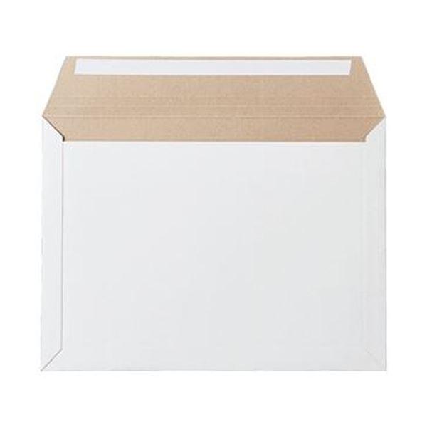 (まとめ)TANOSEE ビジネス封筒開封テープなし 340×250mm 300g/m2 1ケース(100枚)【×5セット】【日時指定不可】