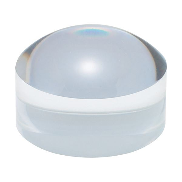 (まとめ) 共栄プラスチック ドーム型ブロックルーペクリア BDL-1500 1個 【×10セット】【日時指定不可】