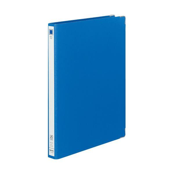 (まとめ) コクヨ リングファイル 色厚板紙A4タテ 30穴 背幅30mm 青 フ-470B 1冊 【×30セット】【日時指定不可】