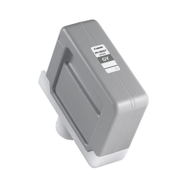 (まとめ) キヤノン Canon インクタンク PFI-306 顔料グレー 330ml 6666B001 1個 【×5セット】【日時指定不可】