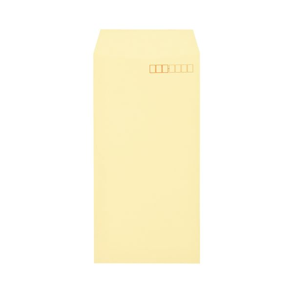 (まとめ) キングコーポレーション ワンタッチテープ付ソフトカラー封筒 長3 80g/m2 〒枠あり クリーム N3S80CQ50 1パック(50枚) 【×30セット】【日時指定不可】