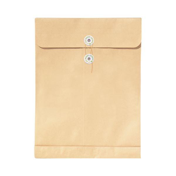 (まとめ) 菅公工業 再生紙クラフト エコパッカー角2 120g/m2 ホ038 1パック(10枚) 【×30セット】【日時指定不可】