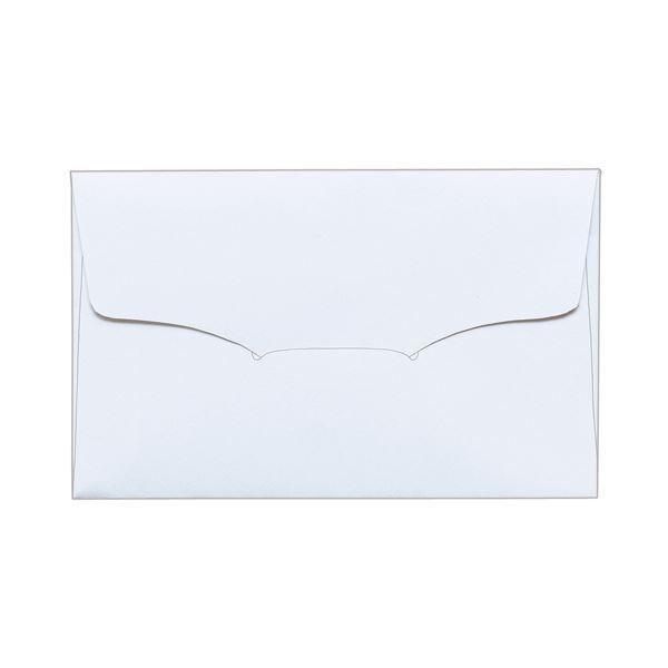(まとめ) TANOSEE 名刺型封筒112×70mm 上質紙 104.7g 1セット(100枚:10枚×10パック) 【×10セット】【日時指定不可】