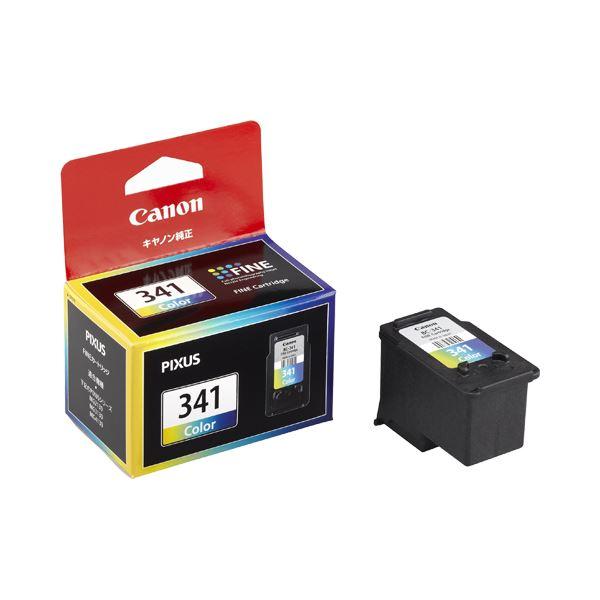 (まとめ) キヤノン Canon FINEカートリッジ BC-341 3色一体型 5215B001 1個 【×10セット】【日時指定不可】