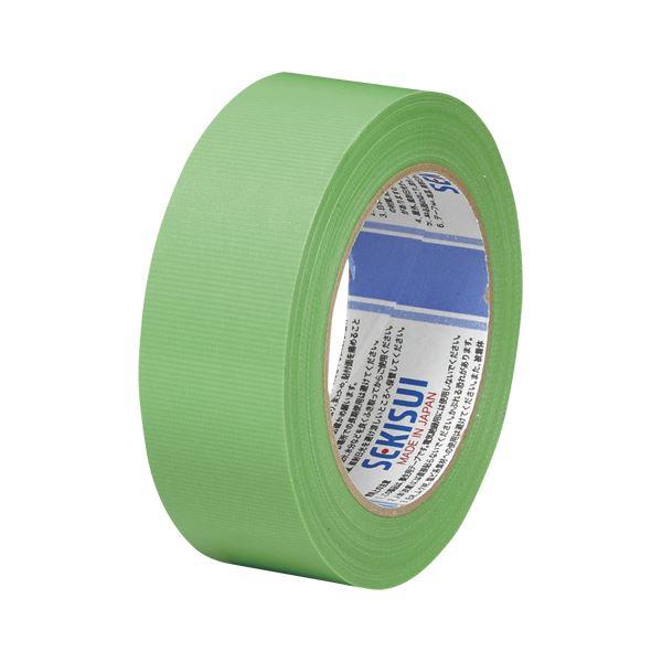 (まとめ) 積水 スパットライトテープ No.733 38mm×50m 緑【×20セット】【日時指定不可】