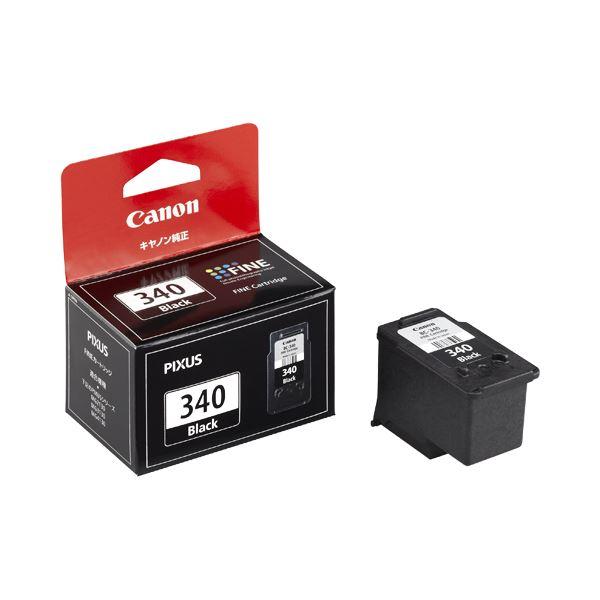 (まとめ) キヤノン Canon FINEカートリッジ BC-340 ブラック 5213B001 1個 【×10セット】【日時指定不可】