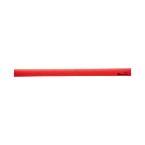 (まとめ) スマートバリュー マグネットバー220mm 赤 10本 B440J-R-10【×5セット】【日時指定不可】