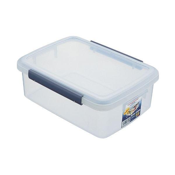 (まとめ) 保存容器/キッチンボックス 【5.6L】 プラスチック製 パッキン付き ユニックス ウィル 【36個セット】【日時指定不可】