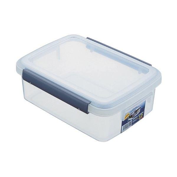 (まとめ) 保存容器/キッチンボックス 【3.2L】 プラスチック製 パッキン付き ユニックス ウィル 【48個セット】【日時指定不可】