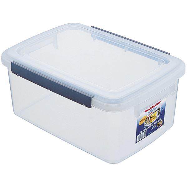 (まとめ) 保存容器/キッチンボックス 【11.6L】 プラスチック製 パッキン付き ユニックス ウィル 【20個セット】【日時指定不可】