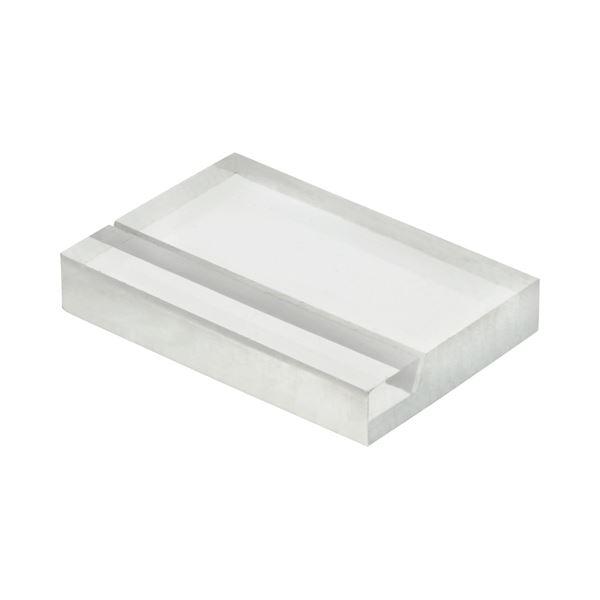 (まとめ) 光 透明アクリルカード立て W30×H20×D5mm A235-1-6 1パック(6個) 【×30セット】【日時指定不可】